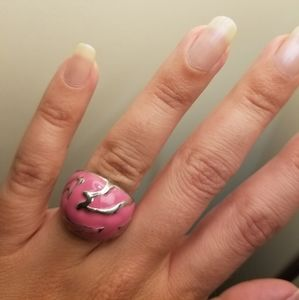 Fashion Jewelry Pink Ring